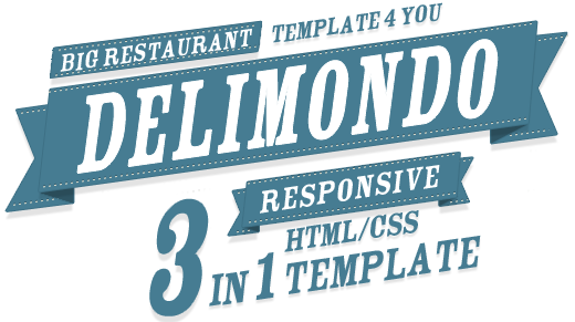 Delimondo 3 in 1 Template